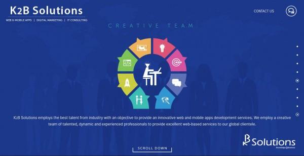 Parallax Webdesign
