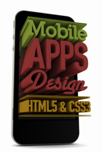 HTML CSS Mobile app design