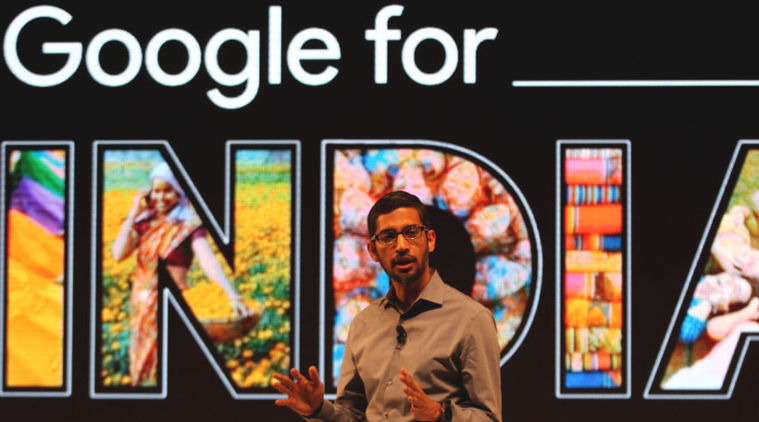 Google for India - Sundar Pichai